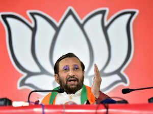 Prakash Javadekar bccl