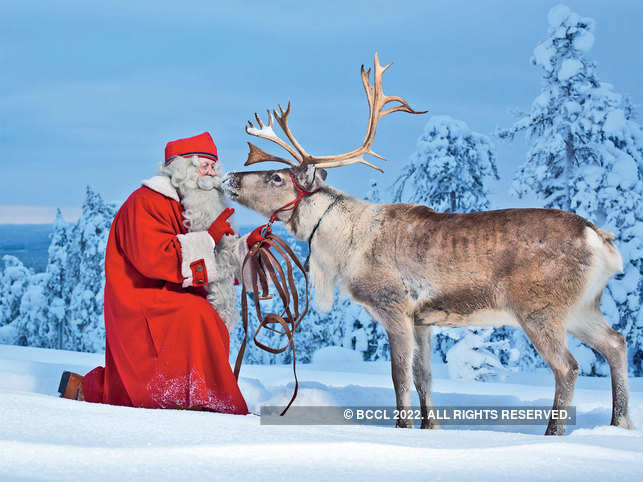 """Rovaniemi: The """"official hometown of Santa Claus"""" in Finnish Lapland"""