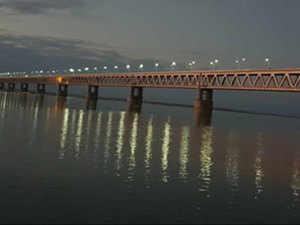 PM Narendra Modi will inaugurate India's longest bridge in Assam on Dec 25