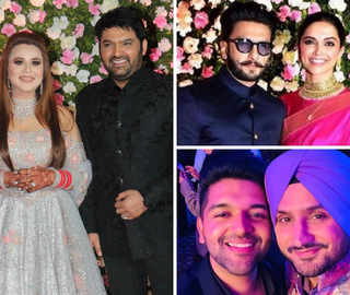 Kapil-Ginni Reception: All Eyes On DeepVeer, Bhajji, Saina Nehwal