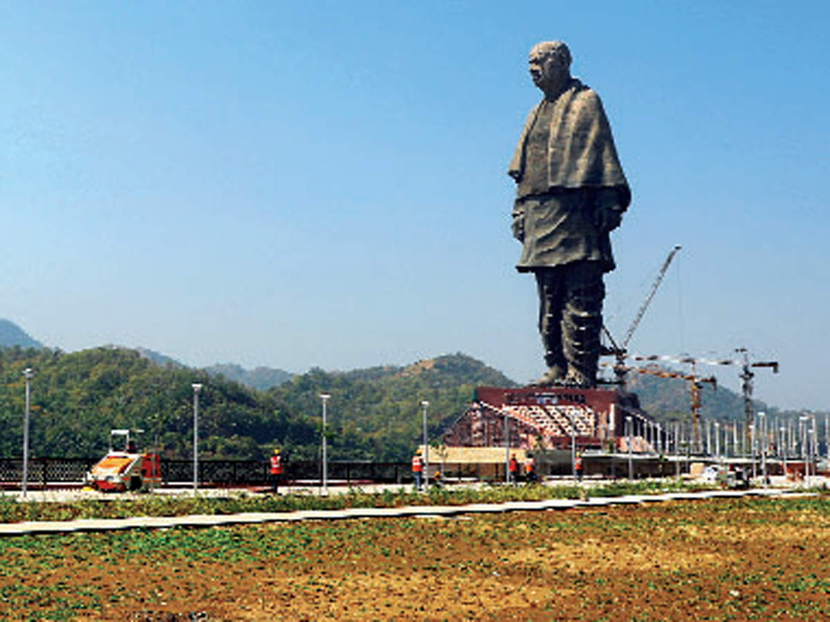 statue of unity: Attracting curious tourists to Gujarat: The