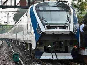Watch: Train 18 cruising at a sustained 180Km/h, fastest train in India