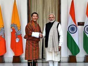 Watch: Bhutanese PM gets ceremonial reception at Rashtrapati Bhavan in Delhi