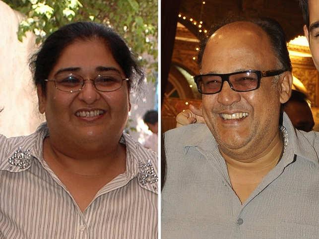 Vinta Nanda and Alok Nath