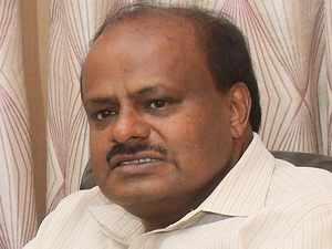 BJP takes a jibe at CM HD Kumaraswamy, Calls him 'Accidental CM'
