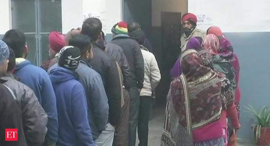 Watch: Panchayat polls begins in Punjab amid tight security