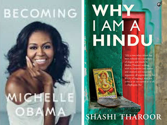 From 'Becoming' by Michelle Obama to Shashi Tharoor's 'Why I am a Hindu'