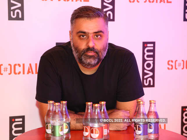 Sahil Jatana CEO and Co-Founder SVAMI at the Media Launch of Svami at Social Bangalore