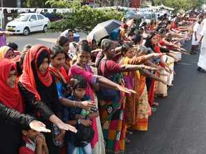 Women in Kerala form 620-km-long Wall to uphold gender equality