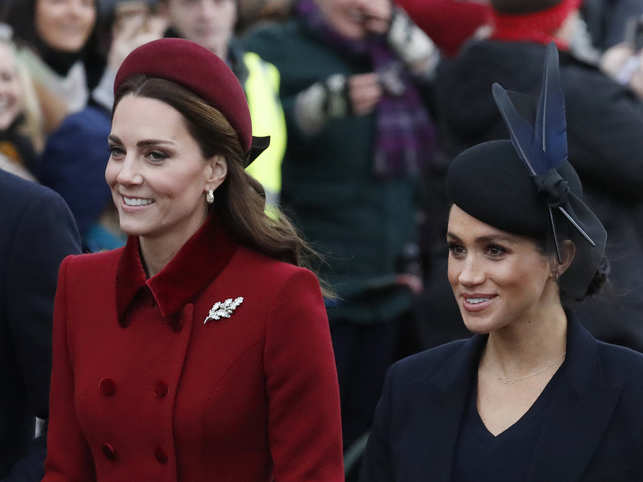 Kate feels Meghan 'used' her to 'climb the royal ladder'