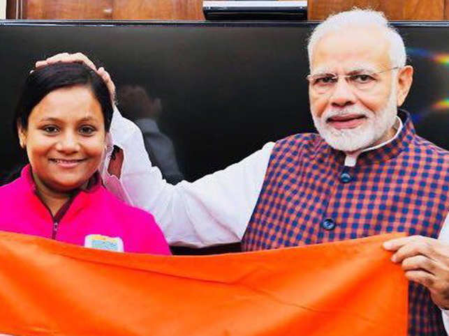 PM Modi congratulates 'pride of India' Arunima Sinha for being 1st woman amputee to climbed Antarctica's highest Mt Vinson