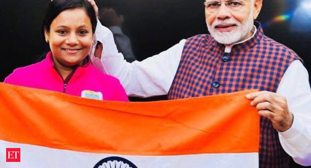 Arunima Sinha: World's first woman amputee to climb the highest peak of  Antarctica - Arunima Sinha: Adding another feather | The Economic Times