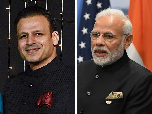 Vivek Oberoi and PM Narendra Modi