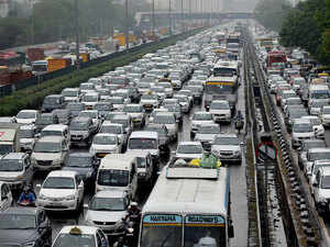 NGT order causes heavy traffic jam on highway