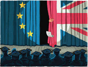 Britain's exit from the European Union might benefit students and