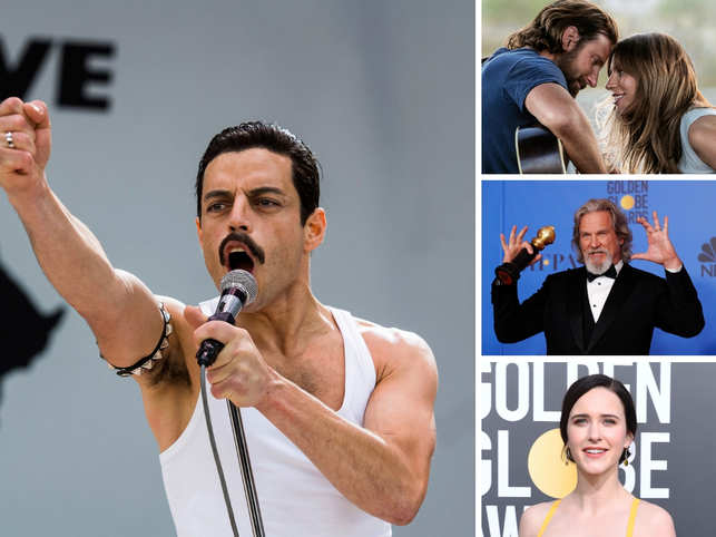 The Golden Globe awards are here, and the list of winners will leave you amused.  While 'Bohemian Rhapsody' won big at the Golden Globes, Lady Gaga won the award for best original song 'Shallow' in 'A Star Is Born'.  Here's a quick look at all the winners.