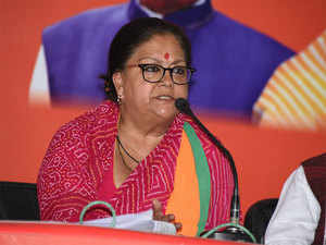 Video of Cong MLA 'insulting' Vasundhara Raje goes viral on the internet