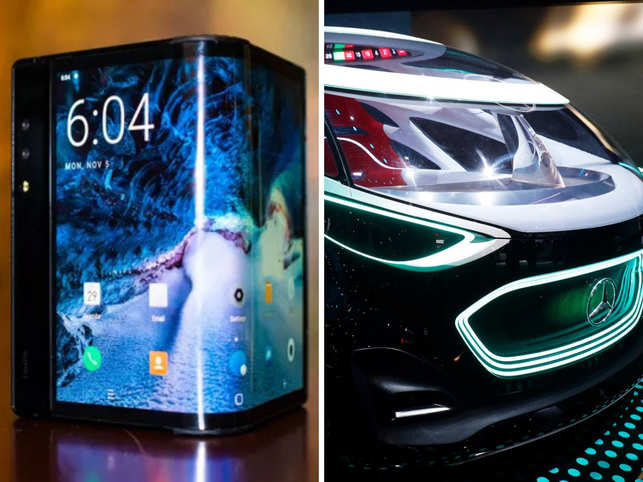 From a foldable phone to a revolutionary mobility concept, a lot happened on day 2 of the year's first and largest consumer electronics show in Las Vegas.