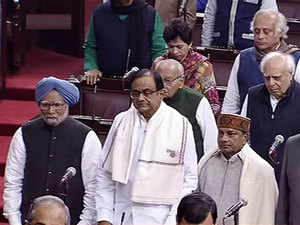 Congress, others, protest as Govt moves Constitution Amendment Bill in Rajya Sabha