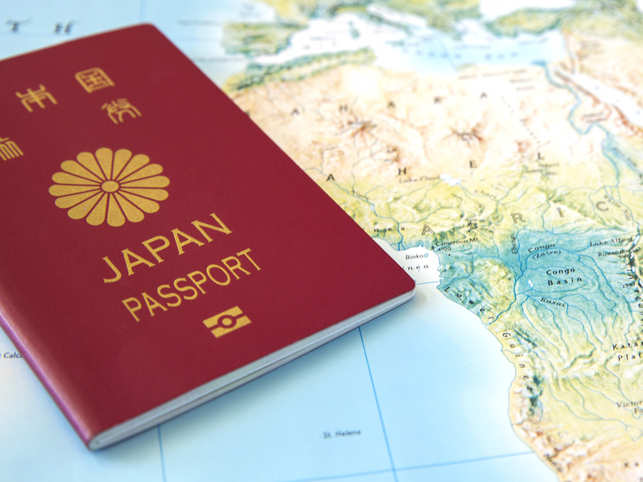 For the second time in a row, Japan retained its top spot as the world's most powerful passport in 2019, according to the Henley Passport Index.  The country became the world's most travel-friendly passport due to the document's access to 190 countries.  In 2019, 27 countries were in the top 10 positions on the index, with 20 of those countries located in Europe, and three in Asia.  Here's a look at all the top ranking passports of this year.