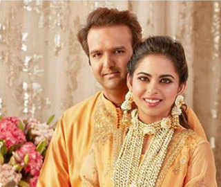 Why the world (still) can't stop swooning over Isha Ambani and Anand Piramal's 'Haldi' picture