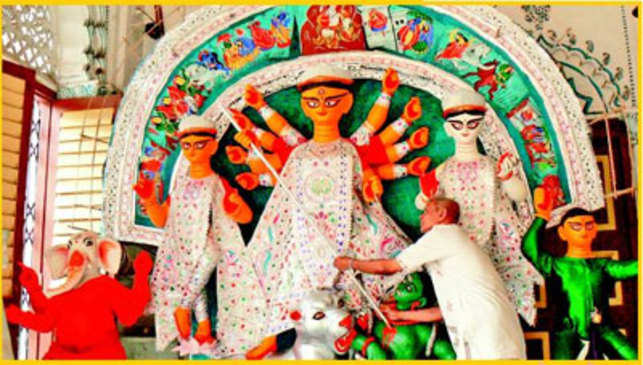 Durga Puja: Annual arrival of Ma Durga to her earthly abode