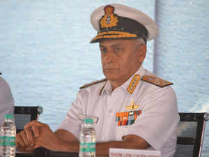 Chinese navy a force which is here to stay: Navy Chief Lanba