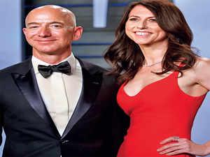 Jeff Bezos Amazon Founder Jeff Bezos Wife Mackenzie Set To Divorce