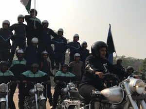 Meet Indian Army's motorcycle-borne 'daredevils'