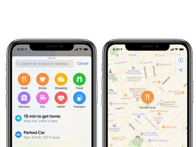 Apple Maps Apple Maps Take On Google Introduce Turn By Turn