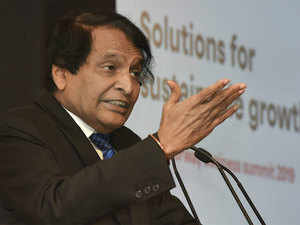 Considering transport subsidy to states for promoting agri exports: Suresh Prabhu