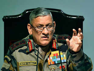 Section 377 verdict may not be implemented in Army, suggests Bipin Rawat