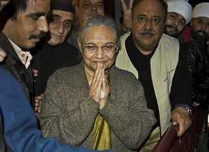 Sheila Dikshit appointed as Delhi Congress chief