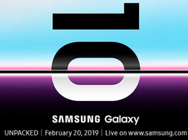 Unpacked: Samsung to unveil Galaxy S10 on February 20