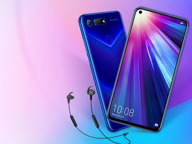 Honor to launch world's first punch-hole display phone, View 20, in India at Rs 40,000 - Economic Times - world, punch, phone, launch, honor, first, display