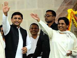 2019 Polls: Akhilesh, Mayawati to hold joint presser tomorrow on SP-BSP tie-up