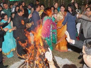Lohri celebrated with traditional fervour in Punjab, Haryana, Chandigarh