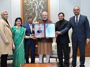 PM Narendra Modi receives Philip Kotler award for outstanding leadership
