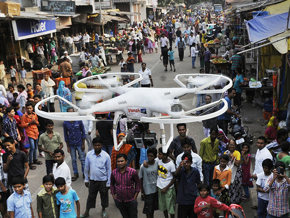 Insurers are hungry for drones. Now, for Amazon and Zomato to deliver via the sky.