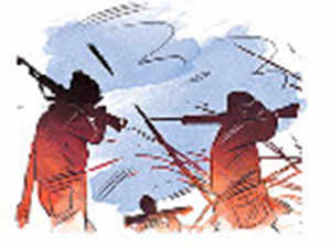 Police use aerial survey to track fleeing Maoists