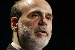 Fed wrestling with the size of aid program: Bernanke - The Economic Times
