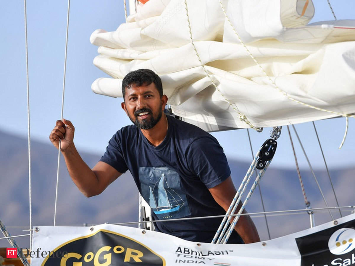 Navy officer who survived Indian Ocean storm during global