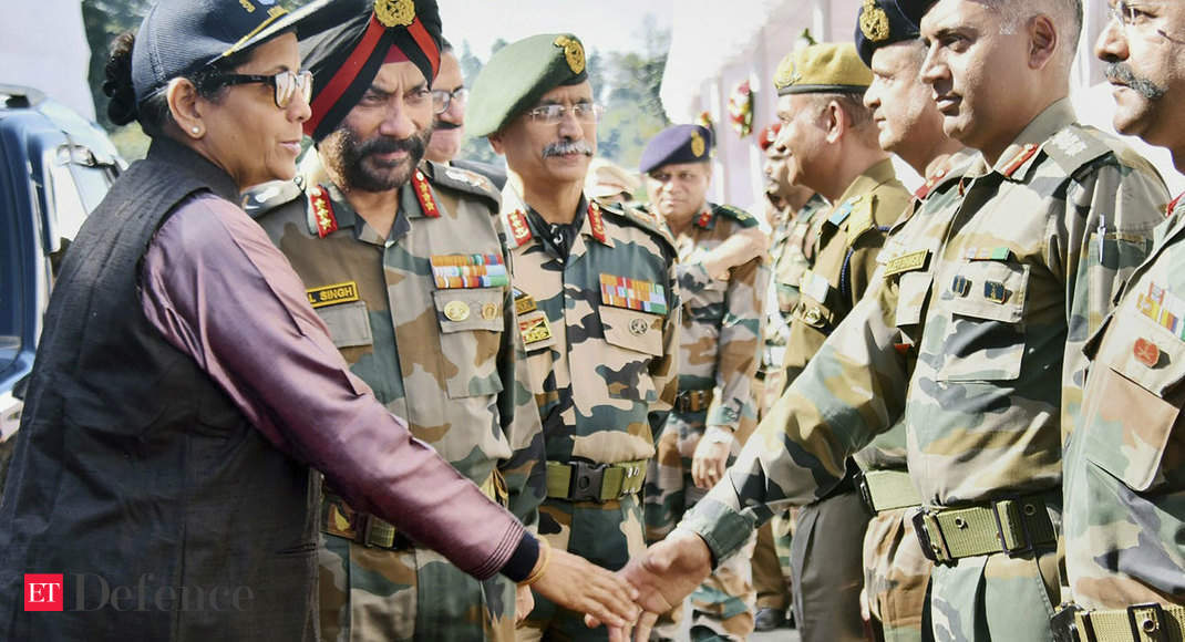 Defence minister Nirmala Sitharaman visits Arunachal Pradesh