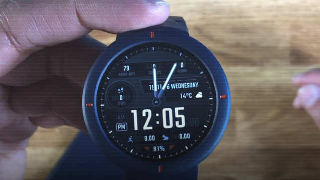 Amazfit Verge: Affordable Smartwatch With Full Circular AMOLED Screen