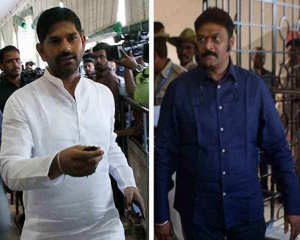Karnataka: Congress MLA JN Ganesh issues apology, but denies brawl with  Anand Singh