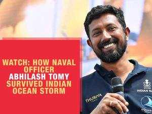 Watch: How Naval officer Abhilash Tomy survived Indian Ocean storm