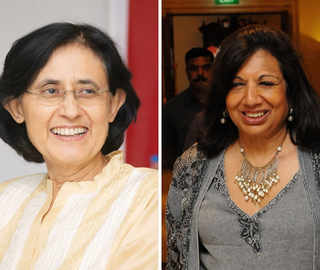 Vinita Bali wants a target set for cos to have more women on boards