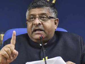 Congress  organised EVM hackathon in London, says Ravi Shankar Prasad