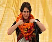 Priyanka Gandhi formally enters politics