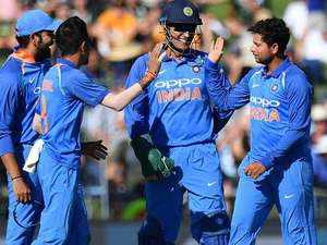India crush New Zealand by 8 wickets in first ODI